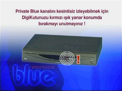 Private Blue PPV Turkey